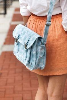 Tutorial bolso de colegio / Satchel Tutorial // bolso maletín diy