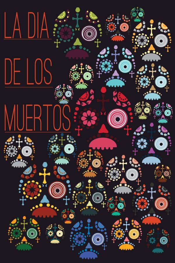 La Dia de los Muertos by Laurel Natale, via Behance