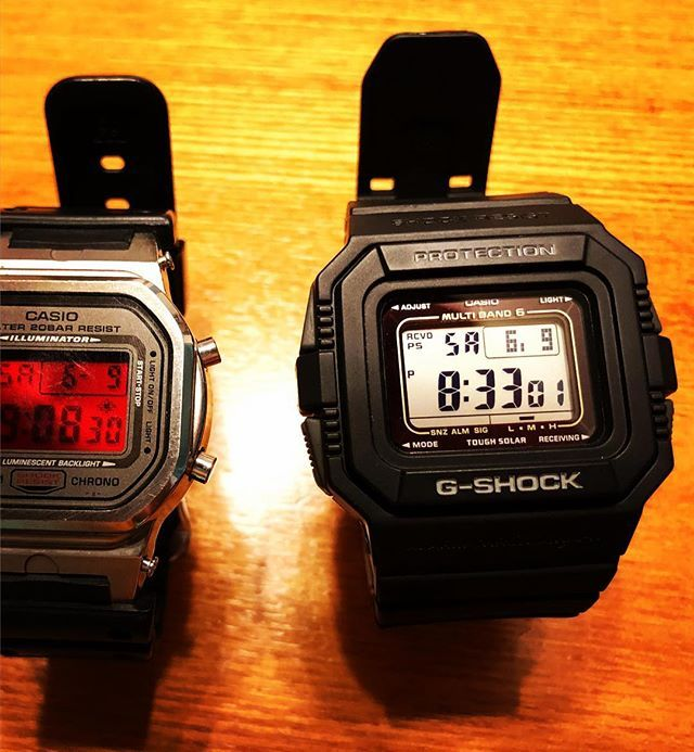 仕事で時計が必要になったが古いg Shockはベゼルが割れて修理部品も