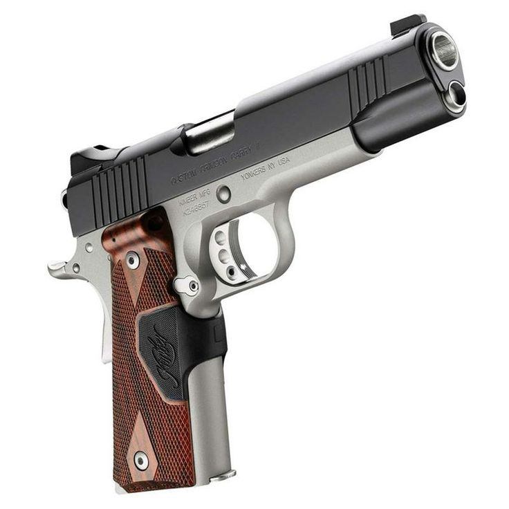 Kimber 45 caliber semi-auto  Find our speedloader now!  http://www.amazon.com/shops/raeind