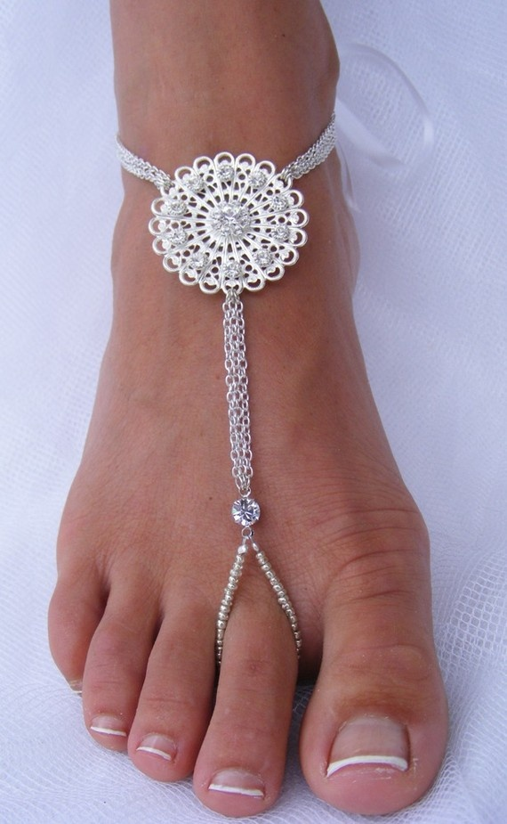 <3 ready for the beach!! Barefoot Sandals!