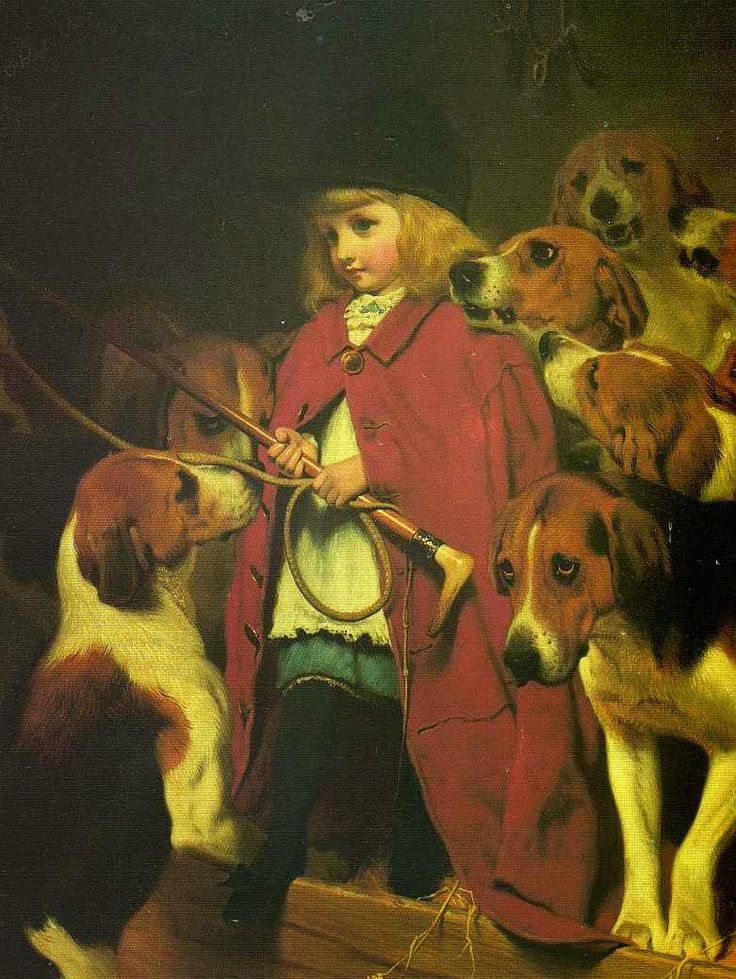 O Chicote Novo - Charles Burton Barber ~ Um dos pintores mais incríveis da Inglaterra