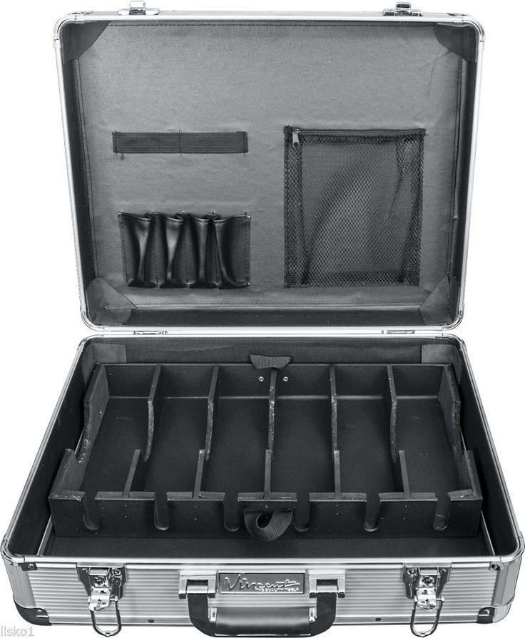 Large Master Barber Clipper Trimmer Storage Travel Case VT10142 SV Silver | eBay