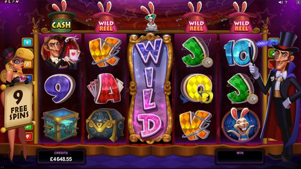 Play Rabbit in the Hat Slot Game: Get £€$100 FREE!