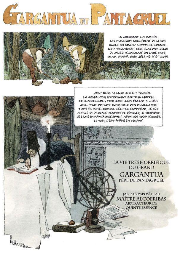 Gargantua et Pantagruel Dino Battaglia