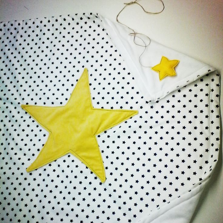 Baby quilts Blanket with stars Χειροποίητο βρεφικο Κουβερτάκι  : Αστέρι