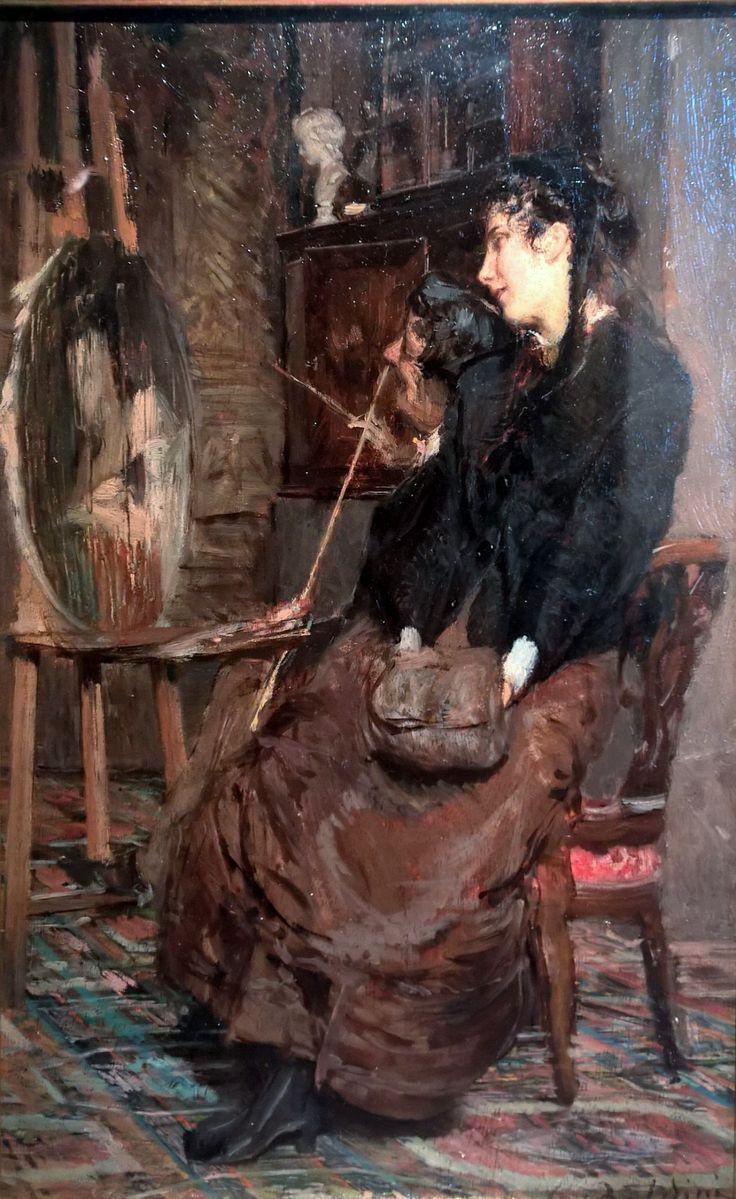 Στο στούντιο του ζωγράφου (1869)