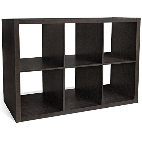 Cap Living 2 4 6 Cube Organizer W Extra Wide Frame Sy Storage Room Divider X 1 3 Bookcase Colors Available In Espresso And White