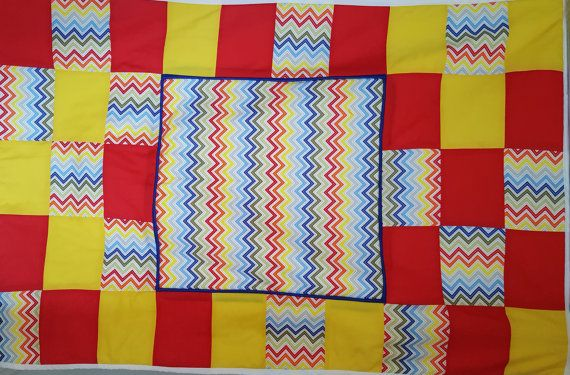 Hey, I found this really awesome Etsy listing at https://www.etsy.com/uk/listing/474886854/handmade-patchwork-chevron-cot-bed-quilt