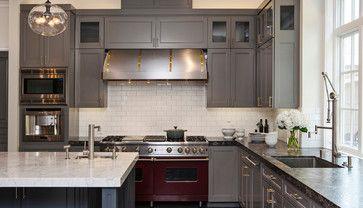 Atherton Oasis - contemporary - kitchen - san francisco - Jules Art of Living 60-Inch Viking Range #AppleMonth