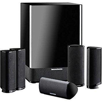 Harman Kardon HKTS-15 5.1-Channel Home Theater Speaker System $129