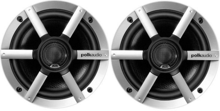 1 pair (BULK PACKAGING) Polk Audio AA2652-A MM651UM 6.5-Inch Coax Ultra Marine Speaker. Completely Sealed front design prevents water intrusion. Rugged, Built-On Grille Includes Tweeter Mount eliminates the need for a traditional tweeter post. Sealed Crossover Assembly Built Into Back of Magnet means there¿s no need to find room to hide an extra box. Steel Heavy Duty Input Terminals will not corrode or tarnish. Passes The Most Rigorous 600 Hours of Salt Fog and UV Testing.