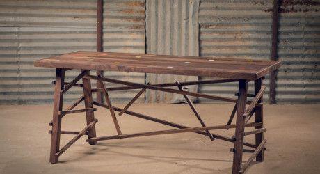 Ręcznie robione meble z drewna izraelskiego projektanta Alon Dodo