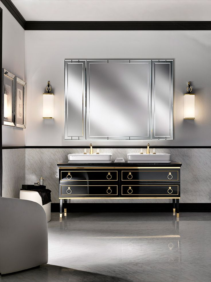 Luxury dark sideboard. Golden details. Luxury furniture. Interior design ideas. home decor ideas. Interior design. For more inspirational ideas take a look at: www.bocadolobo.com