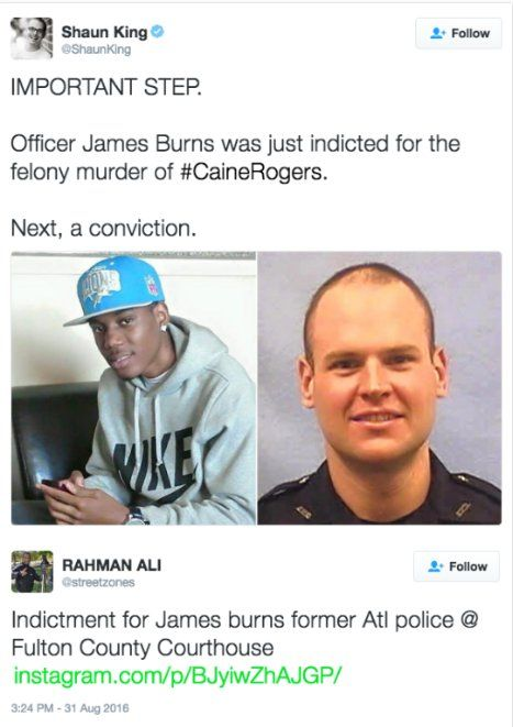 Atlanta police officer indicted | News] Former Atlanta police officer indicted i…