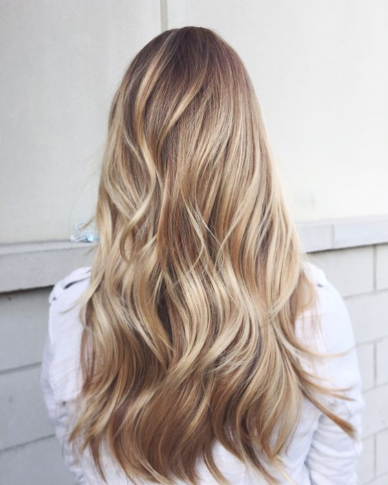 Incredible 1000 Ideas About Long Blonde Haircuts On Pinterest Blonde Hairstyles For Women Draintrainus