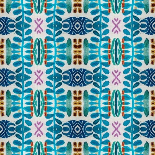 Diseño textil vintage. Arabesco. Print