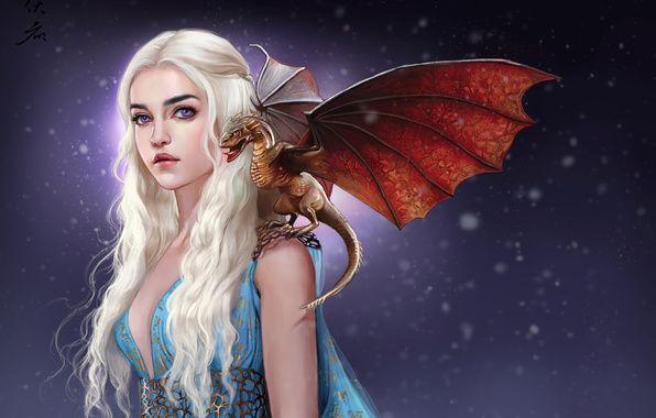 Обои картинки фото арт, game of thrones, игра престолов