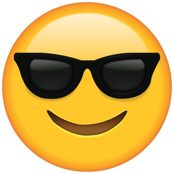 Image result for emoji wearing sunglasses