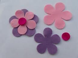 fiori in feltro 2