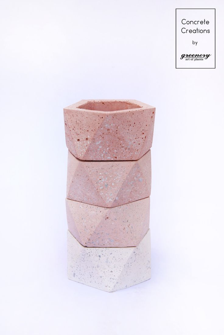 Their differences are what make them unique! Concrete creations by greenery #greenery #concrete #concretedesign  #shopping #plants #succulents #cactus #chania