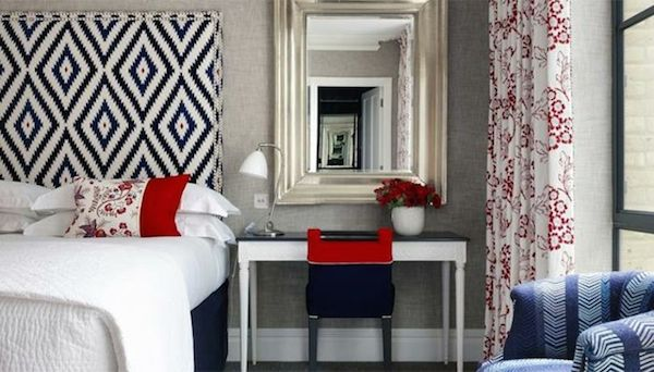 Red, White, and Blue interior and party designs // www.alwayssummerblog.com