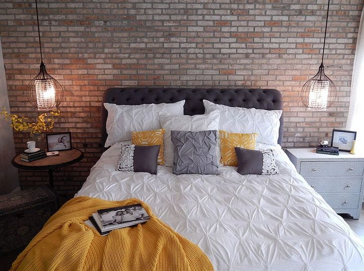industrial bedroom ideas pinterest. 30 bedrooms that wow with mismatched nightstands. nightstand ideasyellow nightstandindustrial industrial bedroom ideas pinterest r