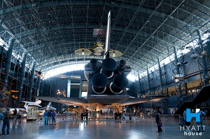 Discover thousands of aviation and space artefacts, with daily tours and educational activities. The Udvar Hazy Center: Air and Space Museum is a 10 minute drive from Hyatt House Sterling/Dulles Airport-North.
