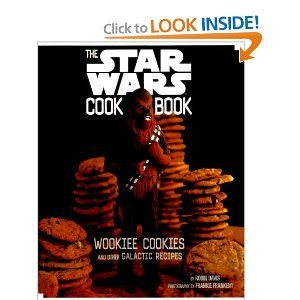 Boba Fett-Uccine and Princess Leia Danish Dos are just the beginning when the Force is with you in the kitchen. Wookiee Cookies is your invitation to fine culinary experiences in the Star Wars frame of mind. From C-3PO Pancakes to Jedi Juice Bars, this intergalactic Star Wars cookbook features healthy snacks, delicious dishes, sweet treats, and easy main courses no Rebel can resist. With hilarious photos and safety tips for cooking on Earth as well as in most space stations, Wookiee Cookies…