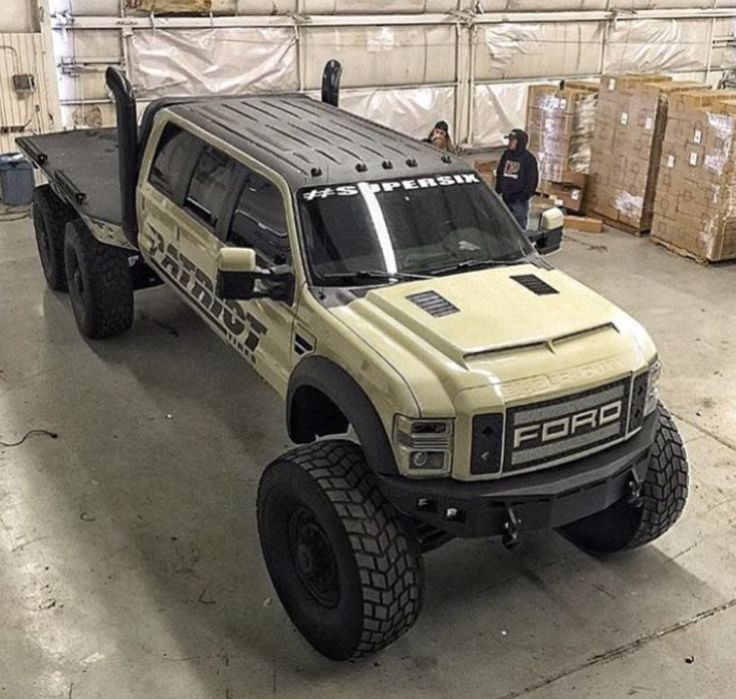 is this even legal where can we find this ford f 450 6x6 patriot beast what we love. Black Bedroom Furniture Sets. Home Design Ideas