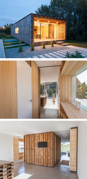 Vorzeigeprojekt Palettenhaus