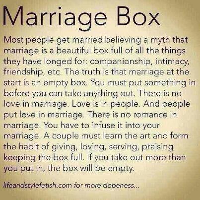 marraige box