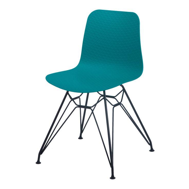 KRZESŁO SELINA NET-15NB Elegancki, prosty mebel, który pasuje do wielu pomieszczeń. Świetnie sprawdzi się w sali konferencyjnej, jako ozdoba biura lub w młodzieżowym pokoju. Nada odpowiedni wygląd każdego pomieszczenia. Stalowe, proszkowanenogi tworzą ciekawą formę, która sprawia, że krzesło nabiera lekkości a profilowane oparciepozwoli na wygodne ułożenie pleców. Będzie niebanalnym elementem dekoracyjnym, każdego wnętrza i z pewnością zachwyci twoich gości.