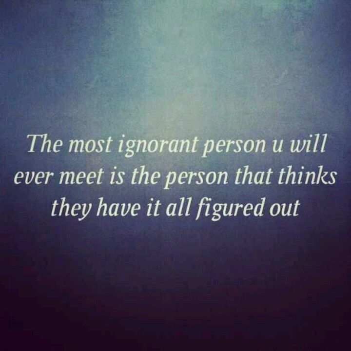 Quotes About People Being Ignorant: Best 25+ Ignorant People Ideas On Pinterest