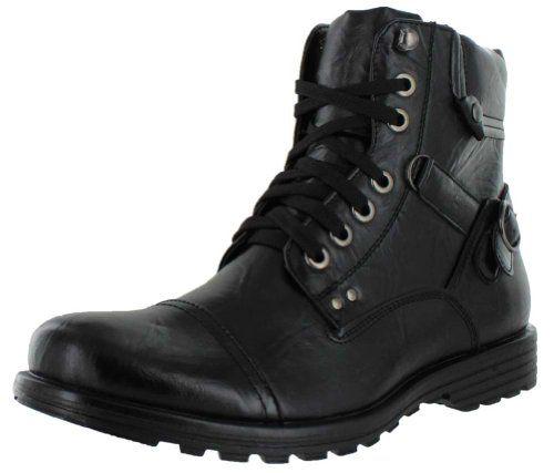 Moda Essentials Men's Combat Boots Work Boots Military Black Size 13 - http://authenticboots.com/moda-essentials-mens-combat-boots-work-boots-military-black-size-13/