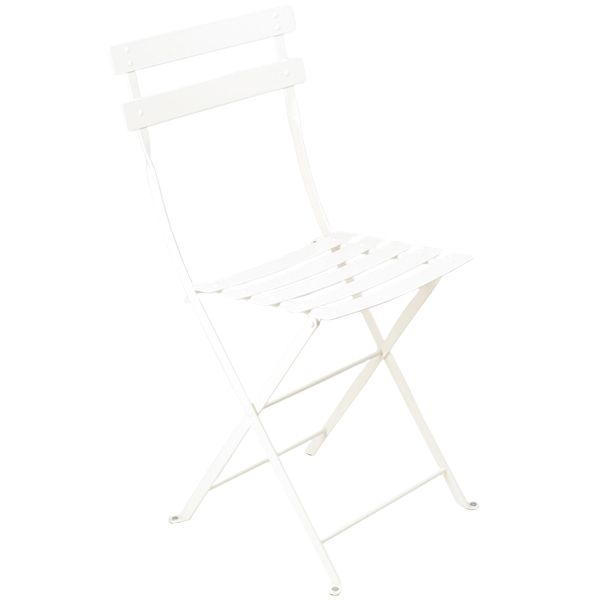 Bistro Metal tuoli, cotton white (64 €)