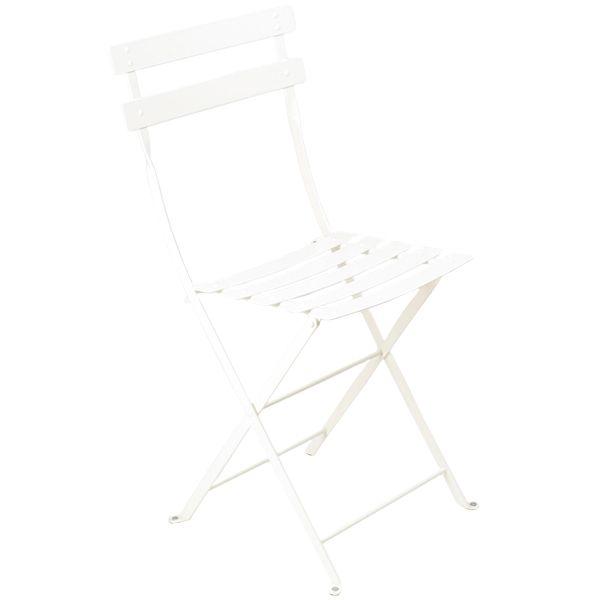 Bistro Metal tuoli, cotton white (64 €)