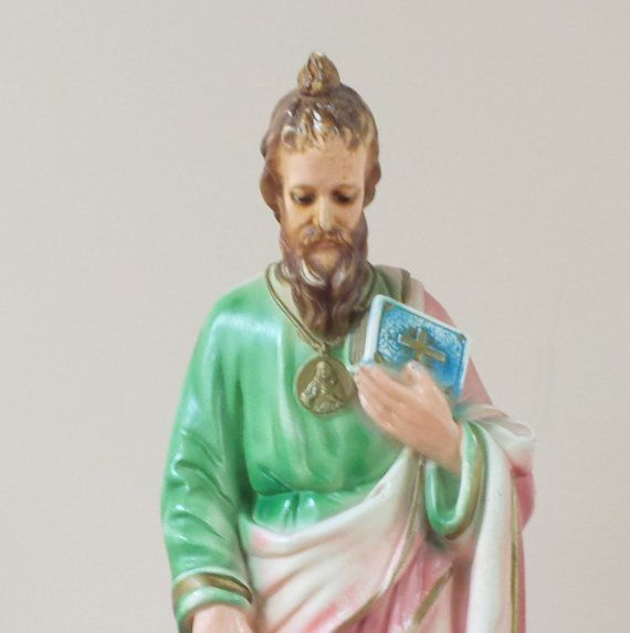 St. Jude the Apostle of Jesus ~ Catholic Statue ~ Patron Saint of Lost Causes ~ Religious Figurine ~ Extra Tall, Tall, Tall