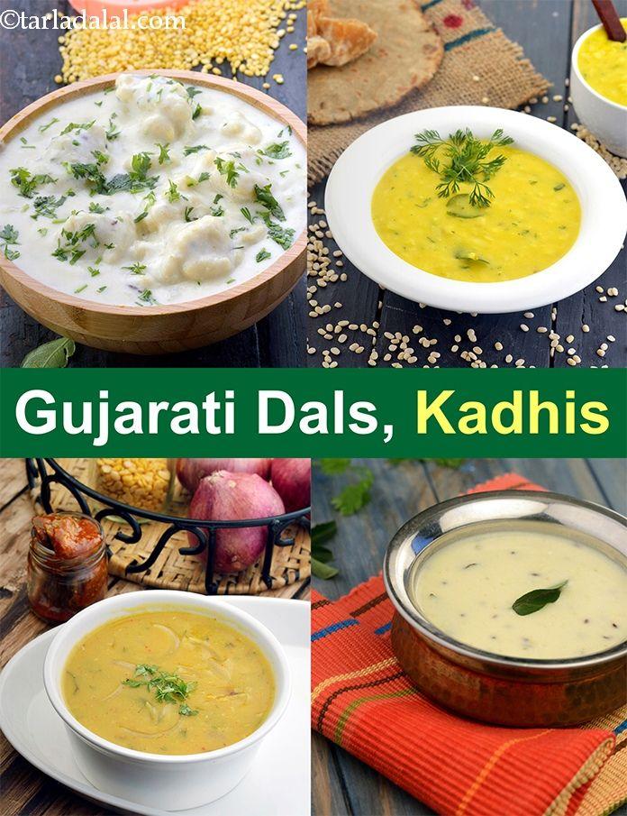 Gujarati Dal recipes, Gujarati Kadhi Recipe Collection in
