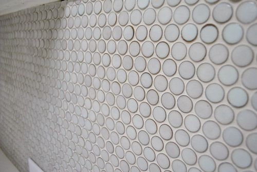 How To Grout Penny Tile Grouting Tile The Penny And
