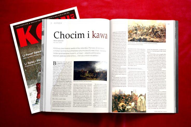 """""""Chocim i kawa"""" Koń Polski Luty/February 2016"""