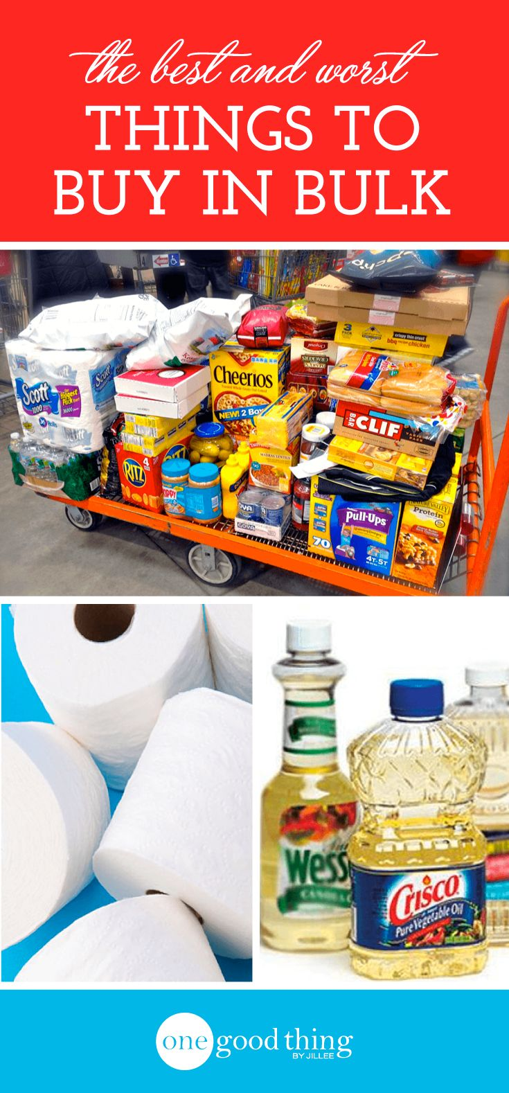 Is buying in bulk the best saving option? Not always. It depends on what you're buying. Check out this list of what you SHOULD and SHOULDN'T buy in bulk.