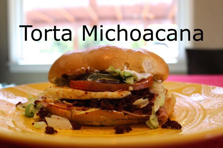 Torta Michoacana Estilo Abuela