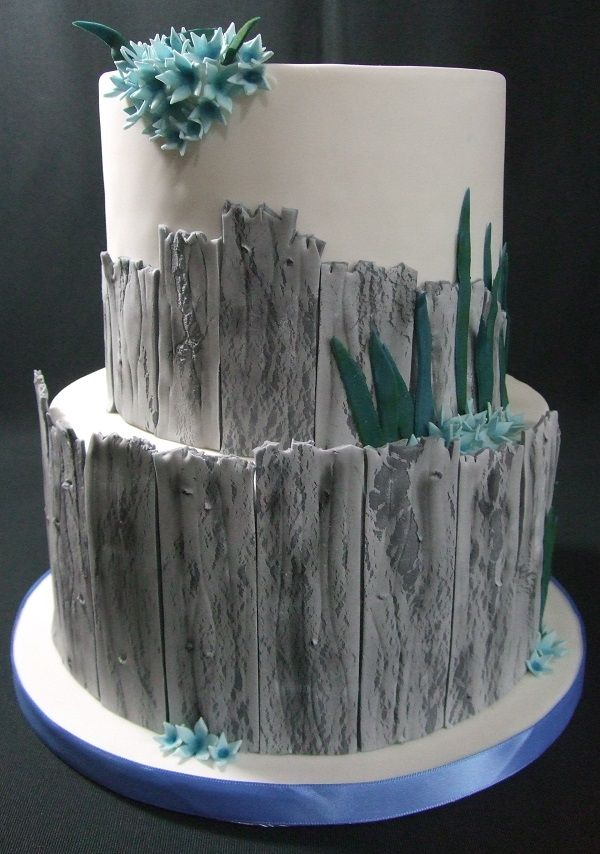 My beachy cake based on Cake Decoration Magazine tutorial from August 2016