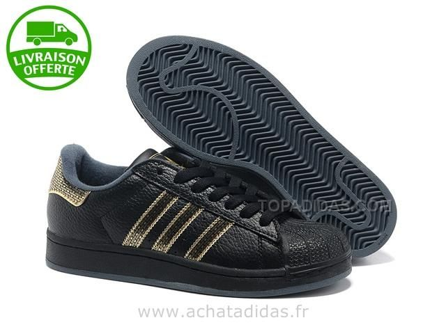 adidas baskets superstar dames noir