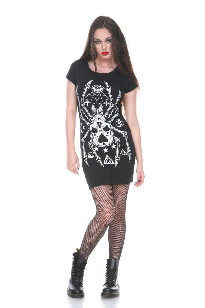 Tarantuga Bodycon Dress By Jawbreaker