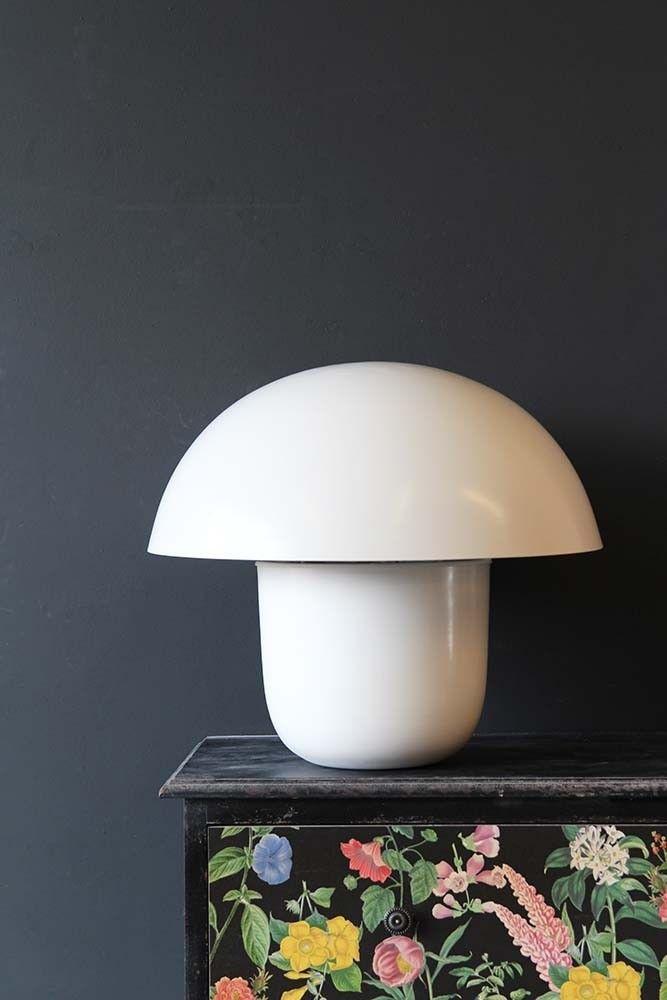 Mushroom table lamp ivory from rockett st george