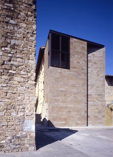 casa della finestra by paolo zermani a facade pinterest