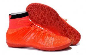 Football boots Orange Elastico Superfly IC Shoes Cleats [C587]