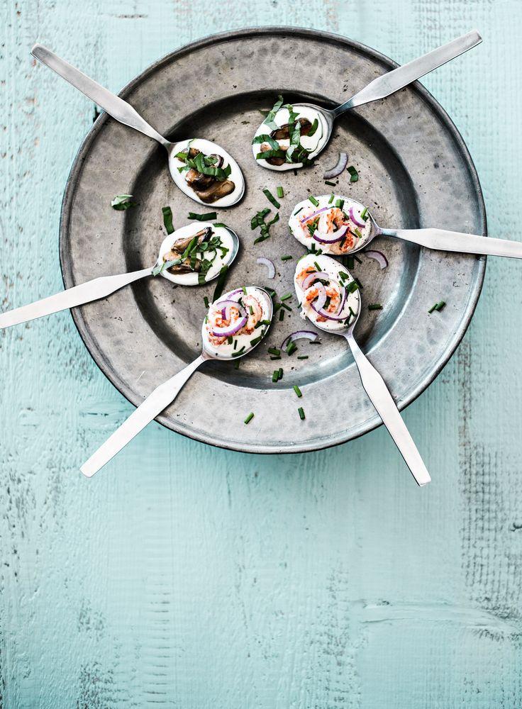 Ravunpyrstö-cocktailpalat | K-ruoka #joulu #pikkujoulu